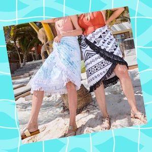 3 in 1 Beach Blanket/Towel/Wrap